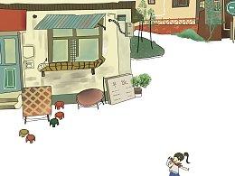 童年 插画系列