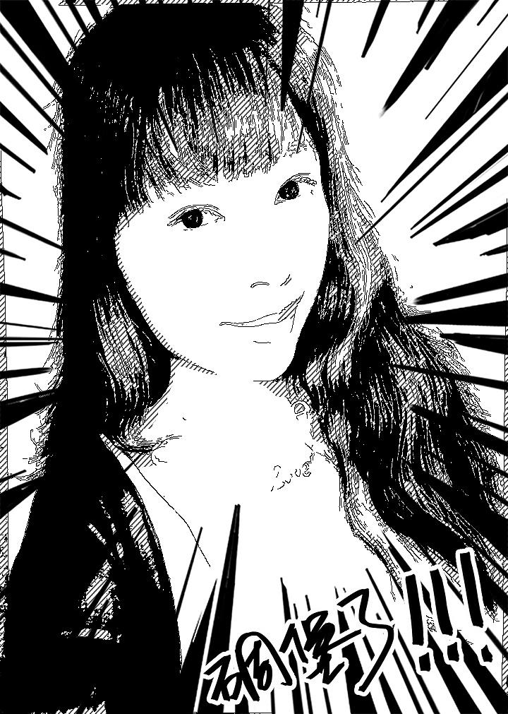 手绘一夫人|纯艺术|彩铅|芝麻sesame - 原创作品