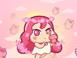 猪猪女孩表情包🐷