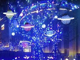 挂树灯生产厂家铭星工厂专业定制户外公园广场树木亮化