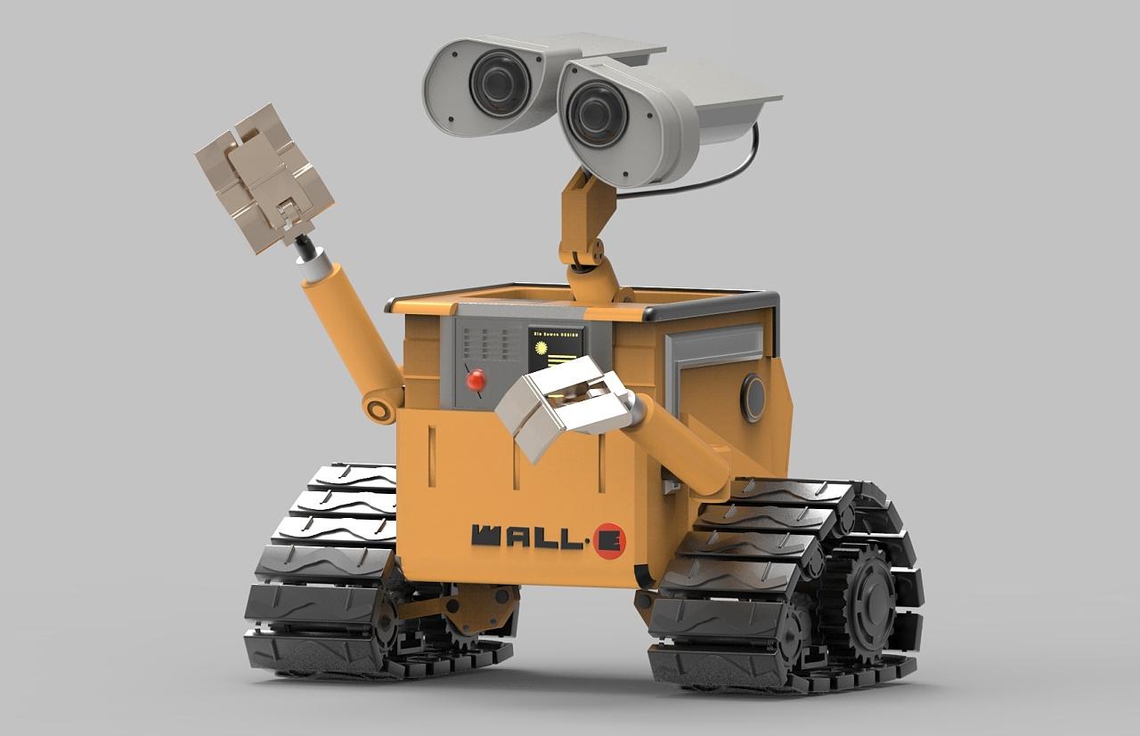 瓦力机器人建模