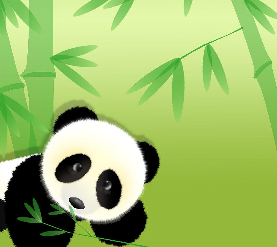 熊猫和竹子