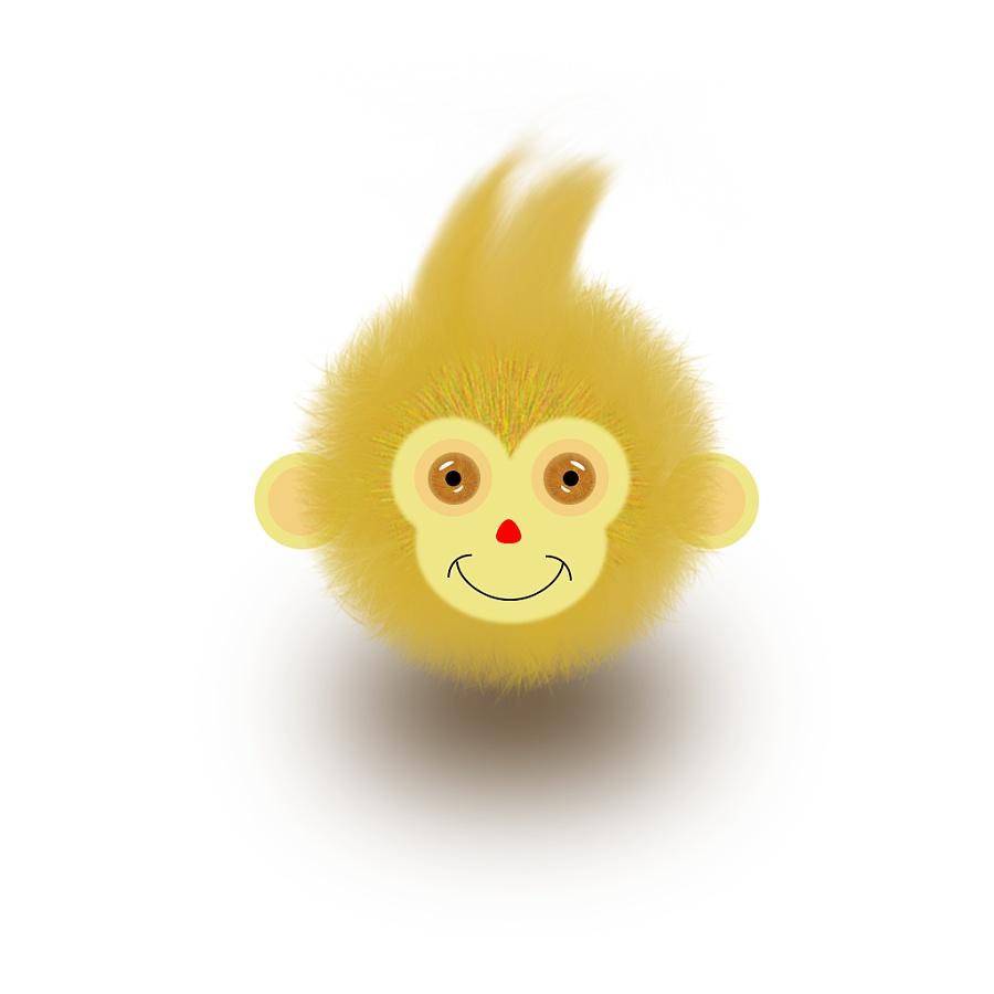 原创作品:猴头