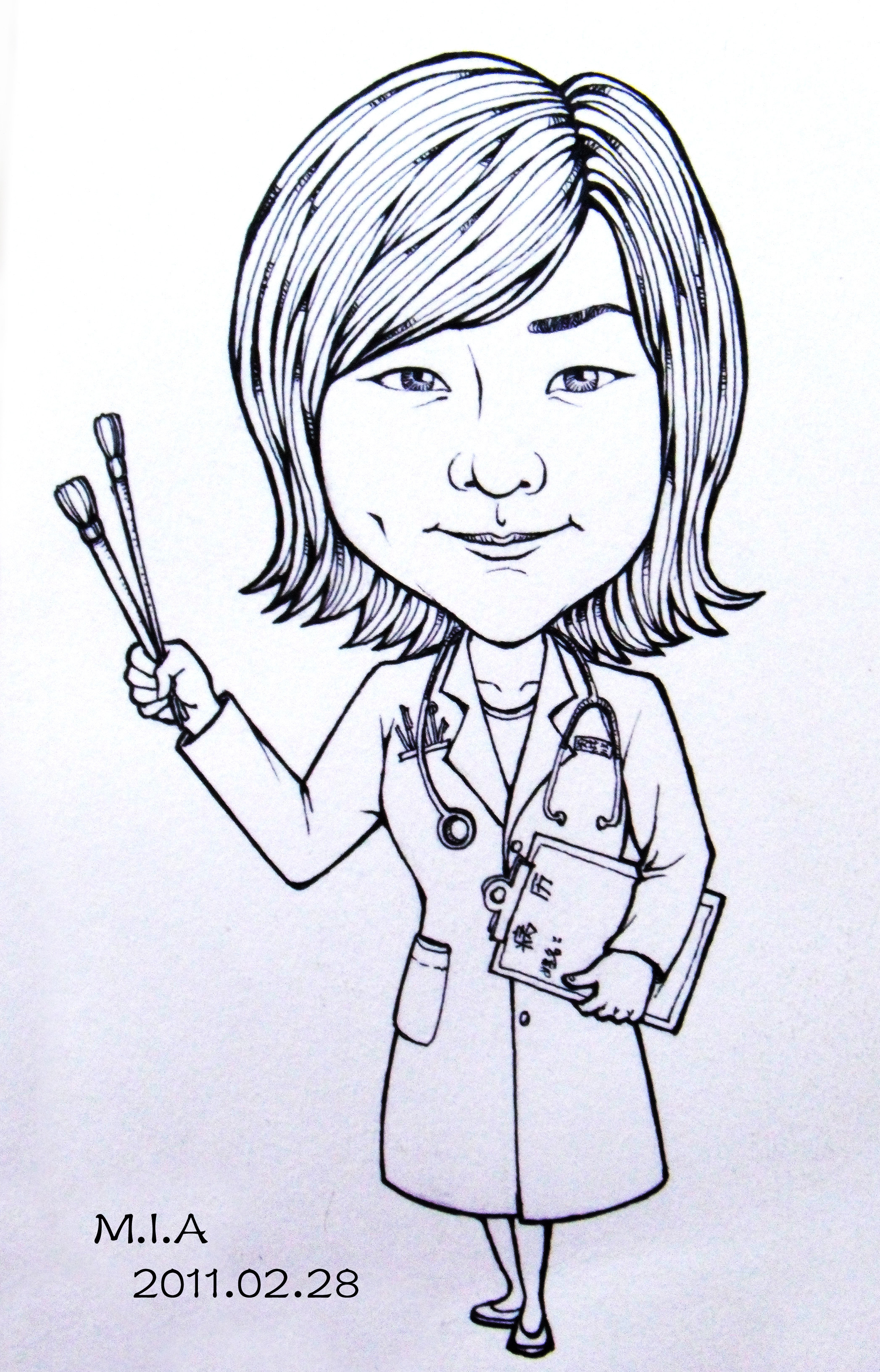 人物漫画肖像