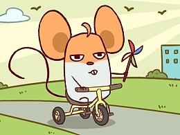 微信表情包系列——《鼠片的日常》