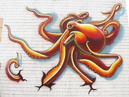 佛山市千灯湖39度空间创意园涂鸦系列