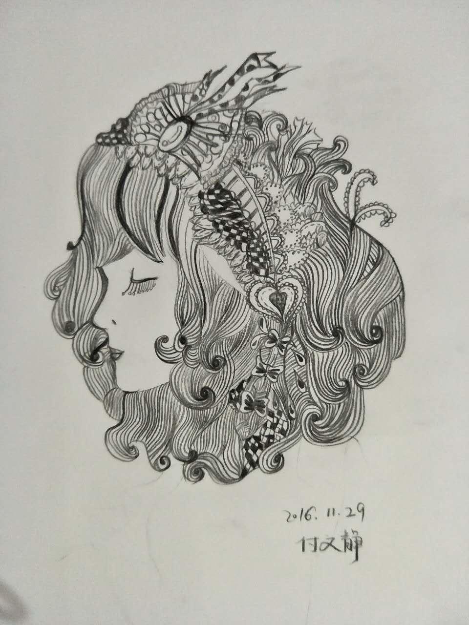 手绘 线稿