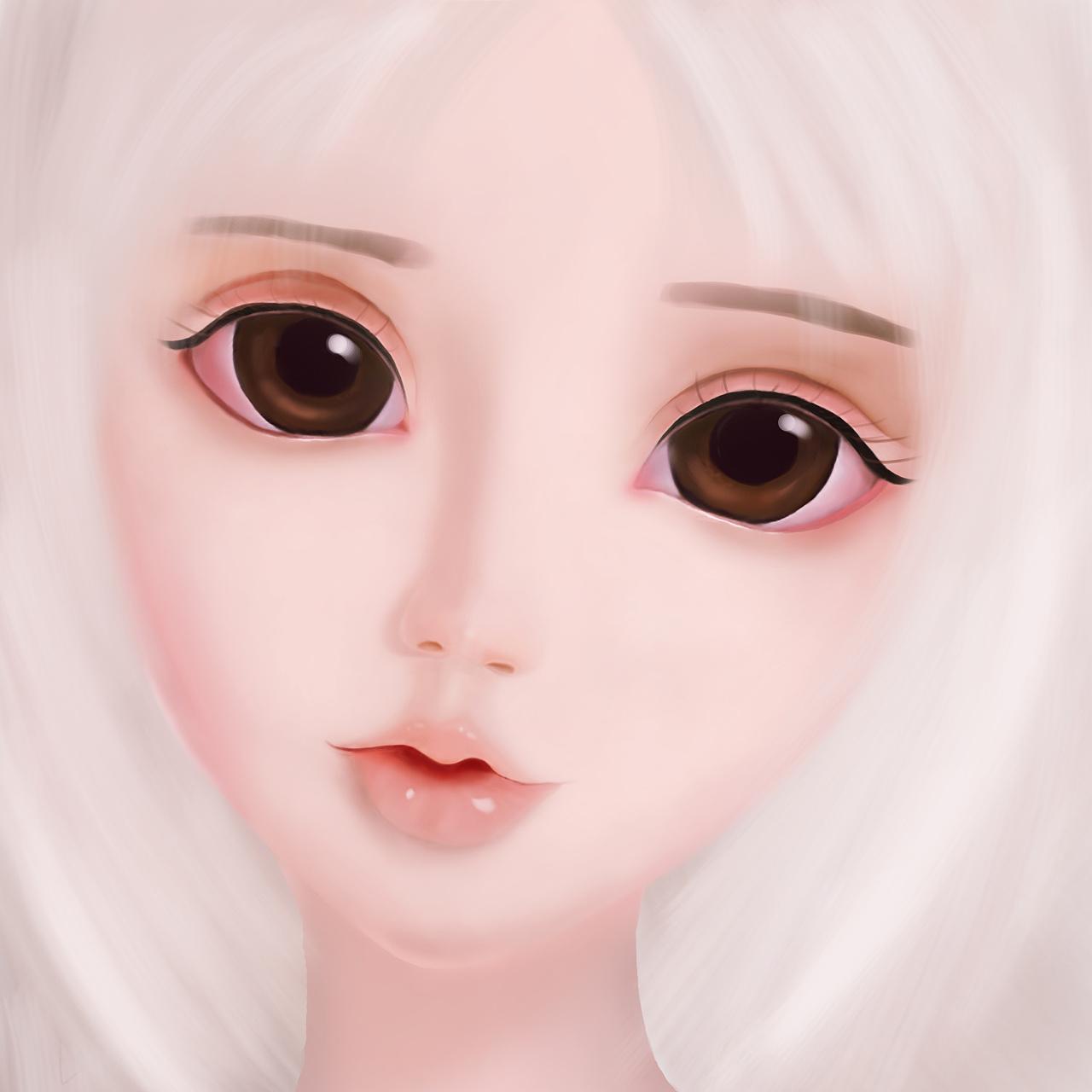 手绘人物1-sd娃娃