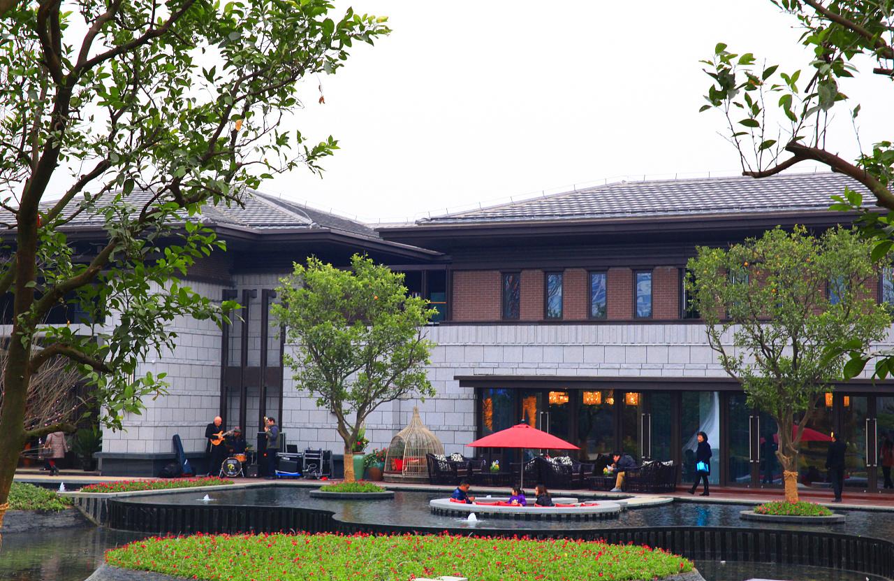 新中式景观经典-苏州世茂石湖湾景观设计【is group作品】图片