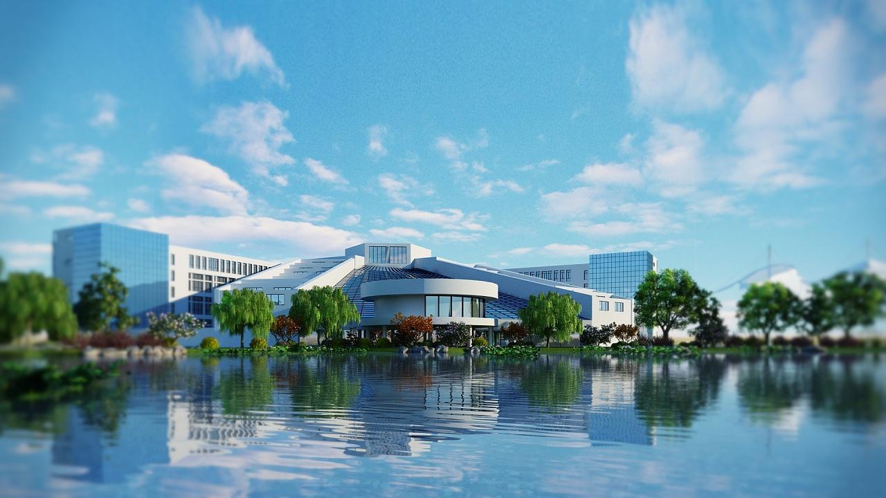 北纬设计---江西科技学院图书馆单帧图片