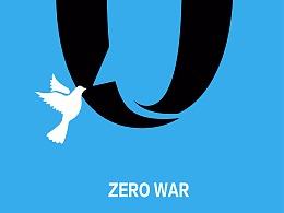 南京国际和平海报双年展优秀奖作品——《零战话语权》