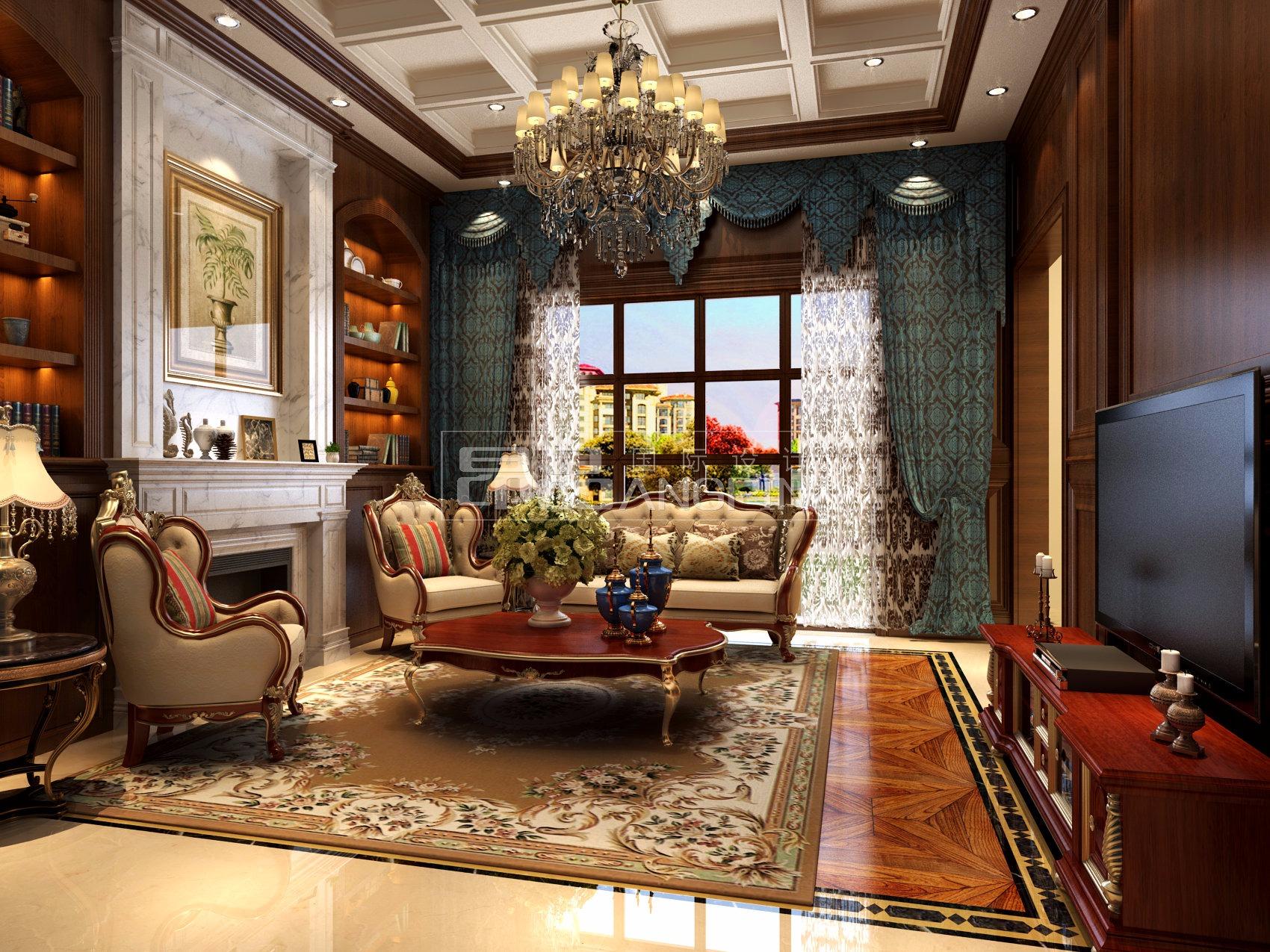 贵阳别墅装饰设计上海玫瑰珠江花园别墅图片