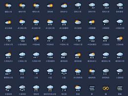 一套天气图标