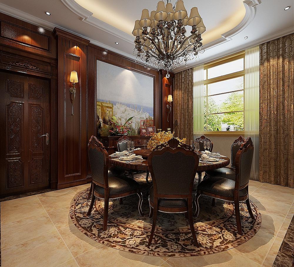 大者600平米欧式新古典风格装修效果图|空间|室内设计