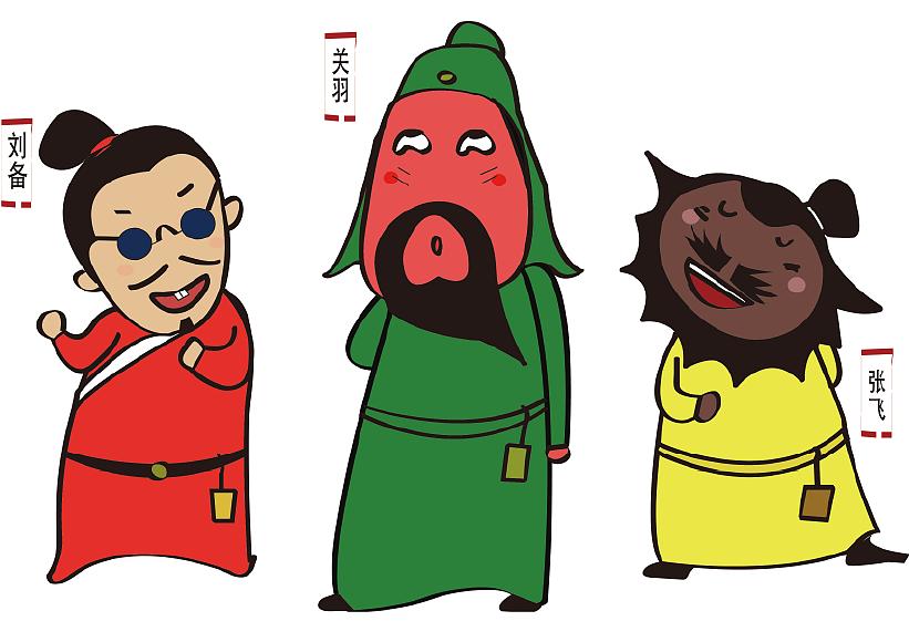三国人物动漫化