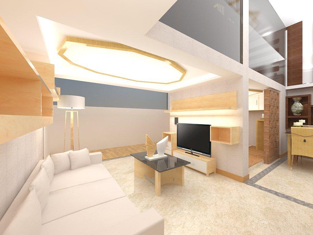 单身公寓室内设计