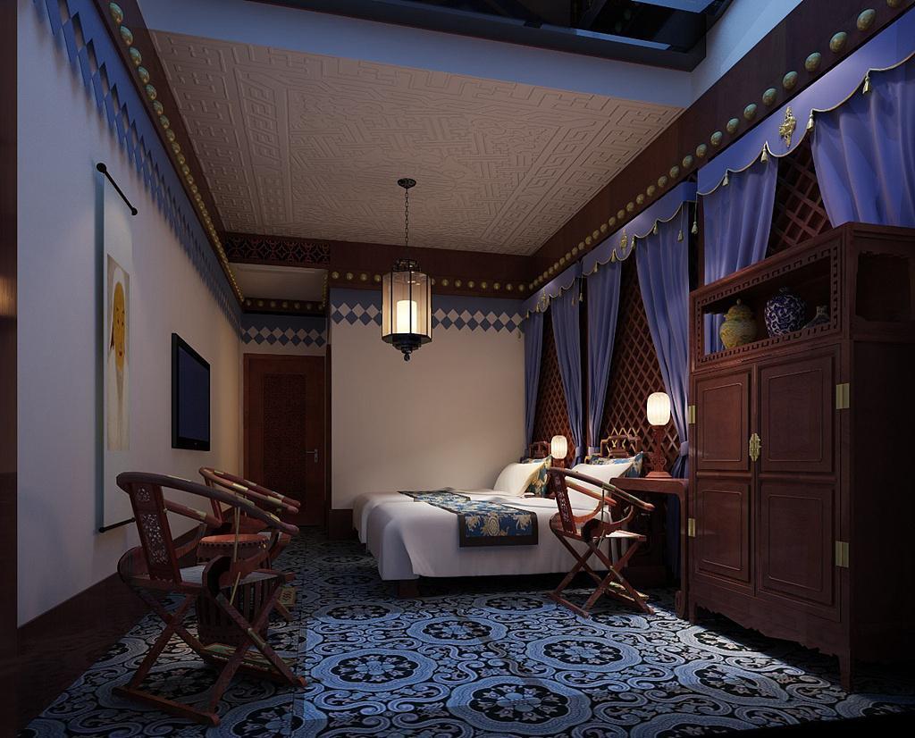 院落民宿酒店设计 成都度假酒店设计公司 新东家设计图片