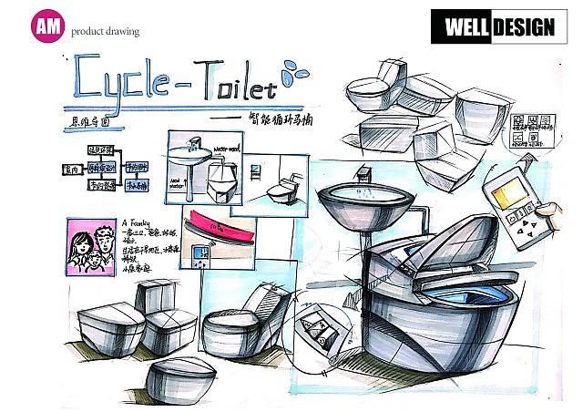 工业设计考研,工业设计手绘,考研快题!welldesign手绘!