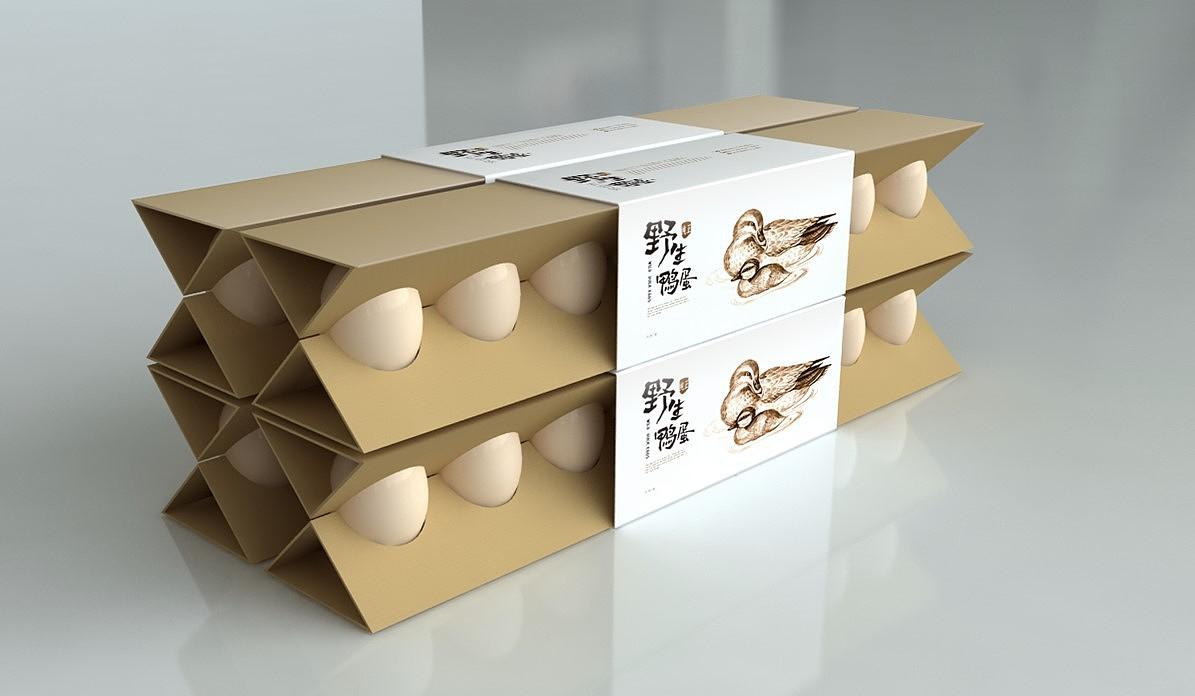 成都农产品包装设计/鸡蛋包装设计/创意包装/手绘包装