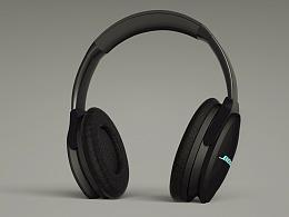 bose耳机渲染
