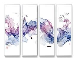 中国风新中式水墨山水装饰画
