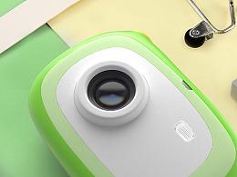 简约款儿童相机设计