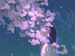 春天的风是花的呢喃