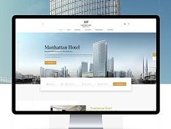 曼哈顿酒店官网设计