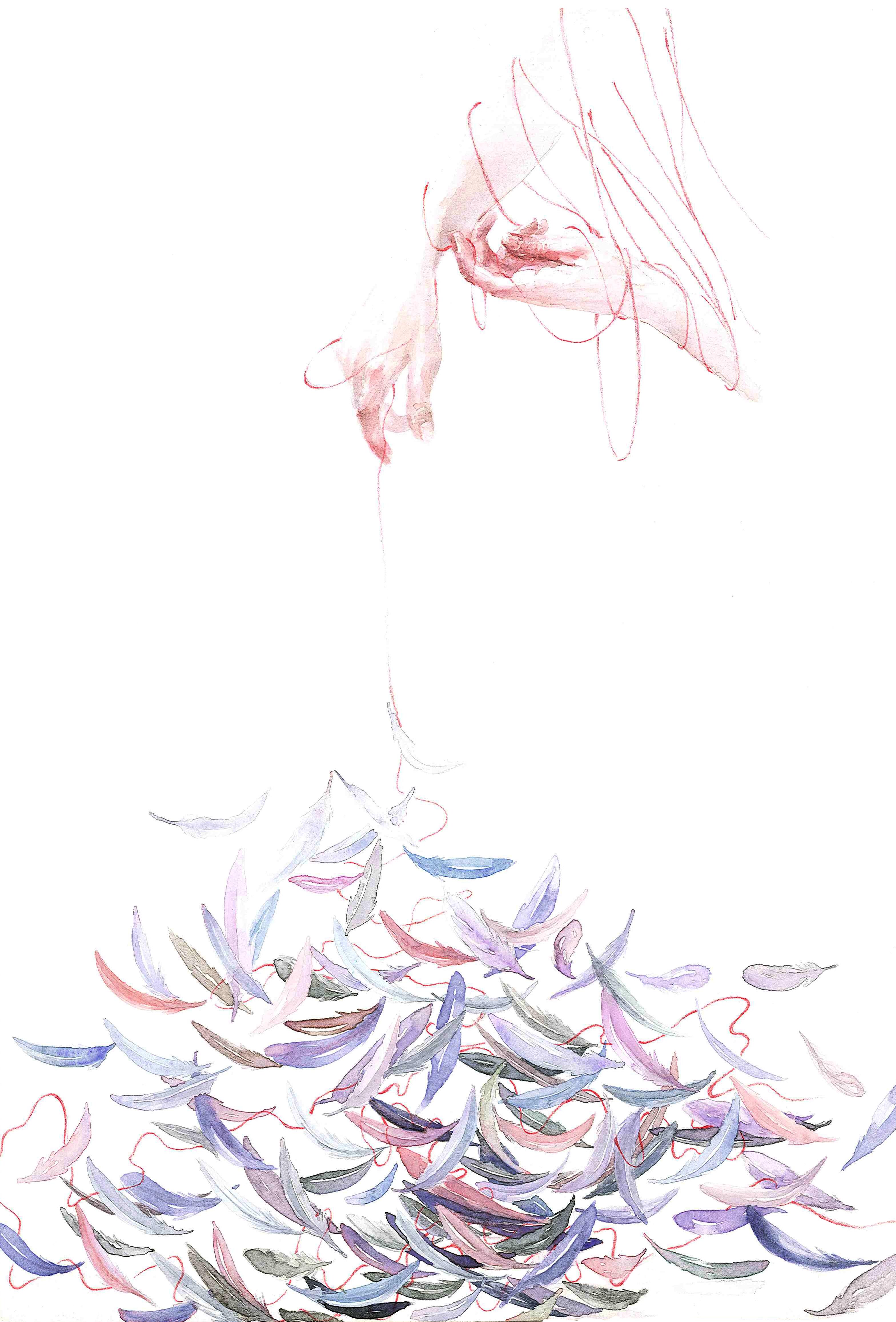 国画 简笔画 手绘 线稿 3138_4627 竖版 竖屏
