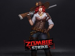ZOMBIE STRIKE 游戏UI视觉设计项目总结