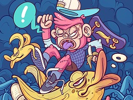 #VANS艺术家#小心香蕉!!