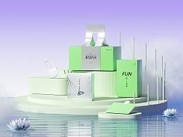 夏日回FUN丨OPPO端午礼盒包装设计