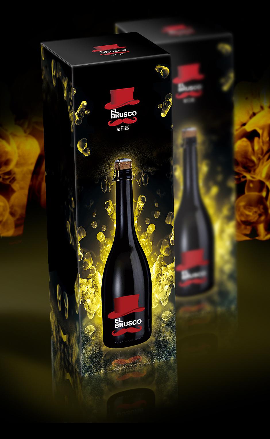 起泡酒盒设计 意大利的起泡酒图片