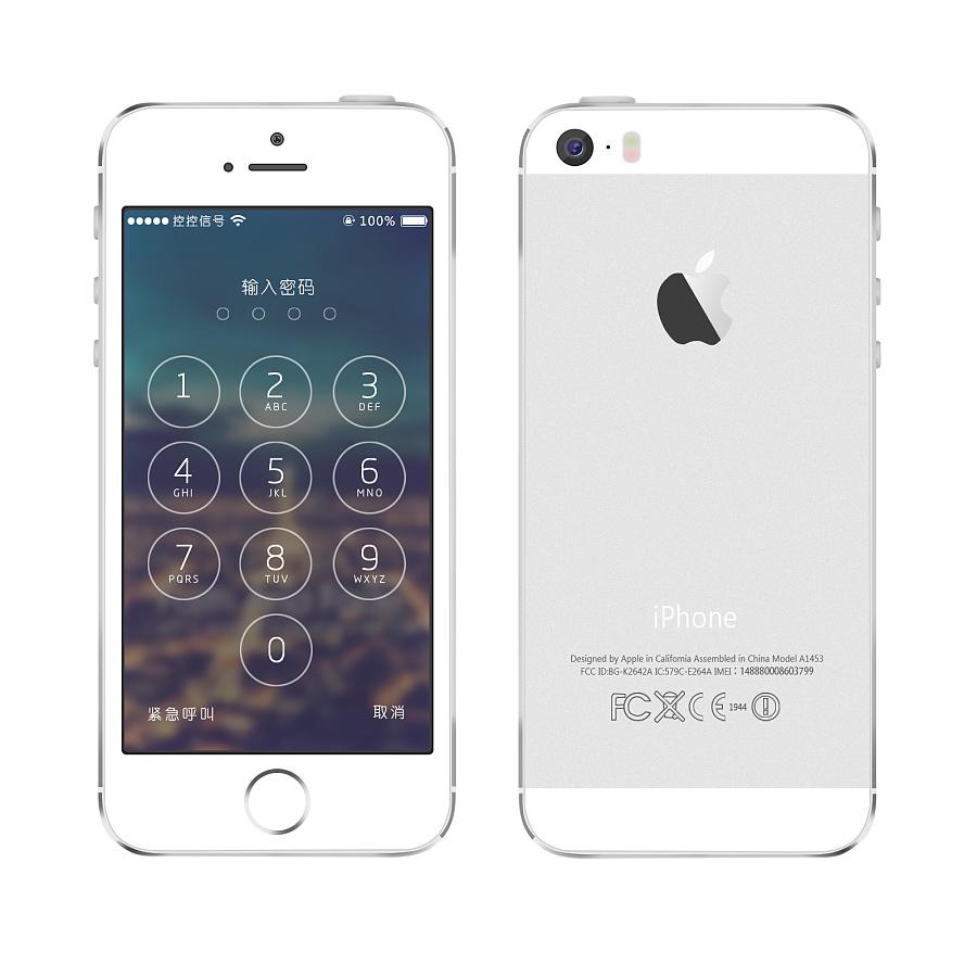 手绘iphone5 iphone6s