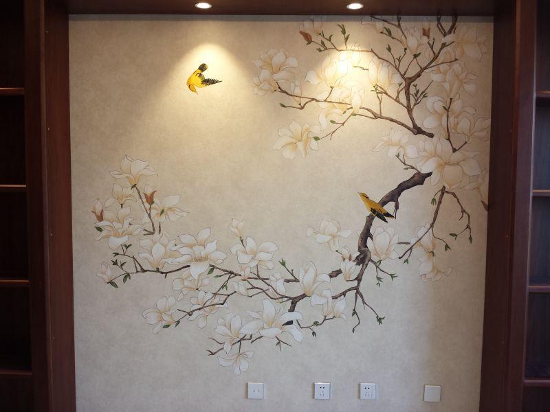 我的手绘墙