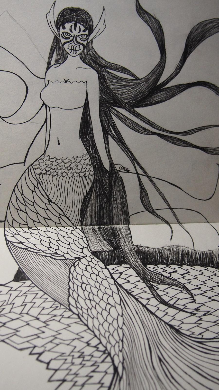 简笔画 手绘 素描 线稿 900_1600 竖版 竖屏