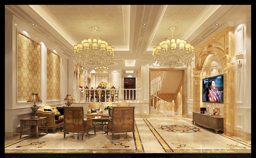 乔治空间问题|别墅|室内设计|合肥卓域v空间-原六教学设计的策略庄园解决年级图片