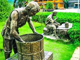 中国茶文化历史悠久丰富多彩。——大美艺匠