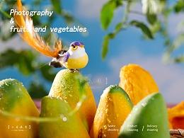 芒果拍摄 | 水果拍摄 | 电商产品拍摄