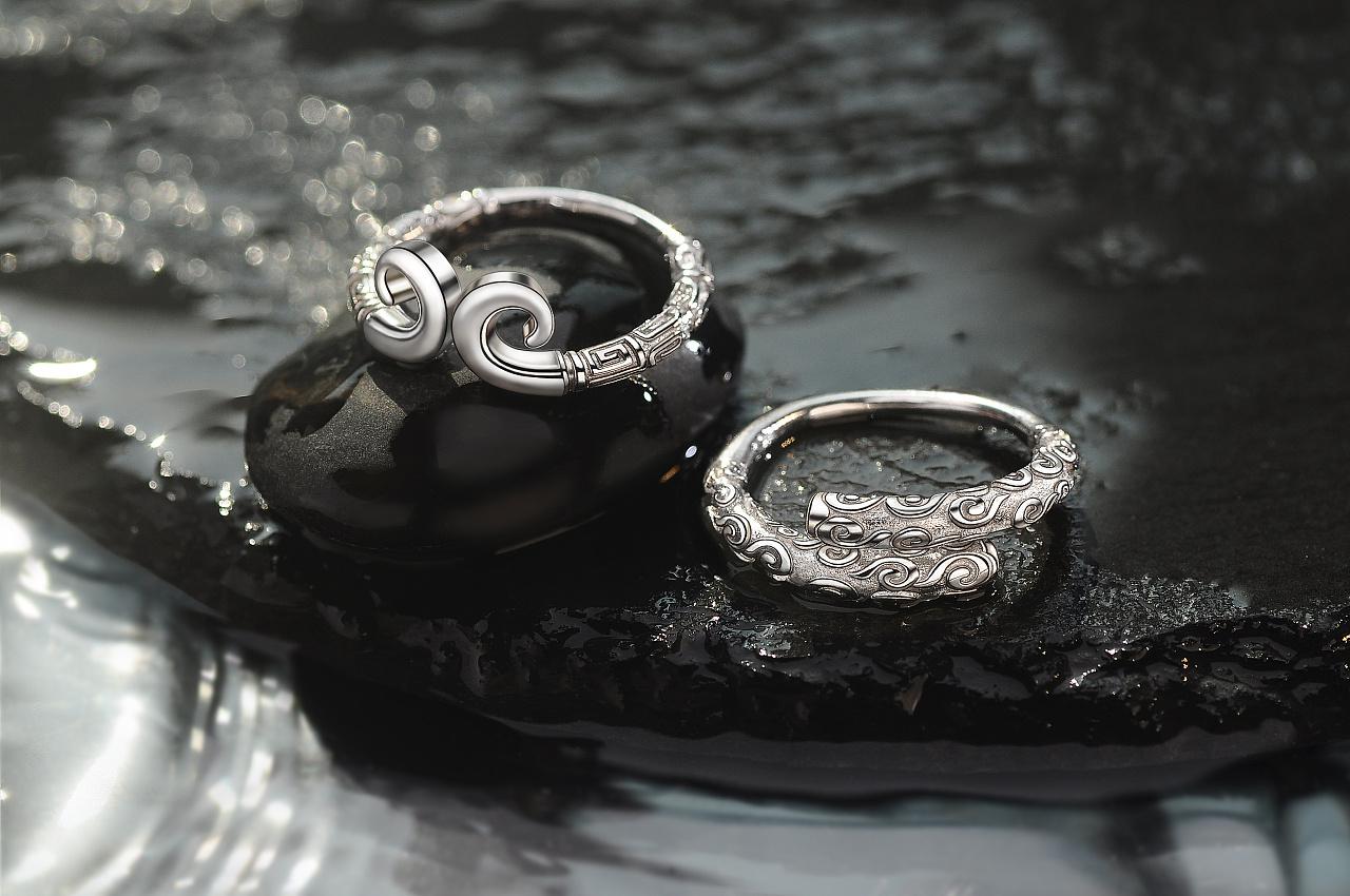 金箍戒指创意商业摄影(附送场景搭建布光图)