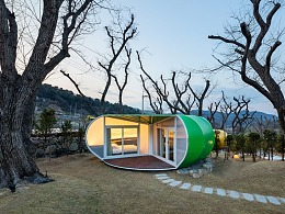 度假村迷人的自然轮廓设计