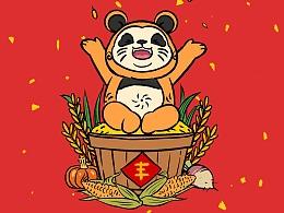 """熊猫阿滚的新年专""""鼠""""特辑"""