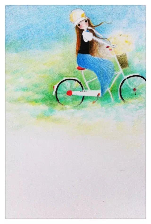 彩铅手绘 小清新|彩铅|纯艺术|一生梦里