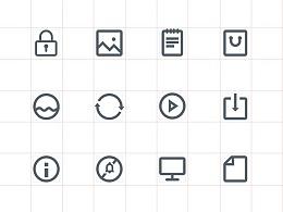 从零开始-线性icon练习