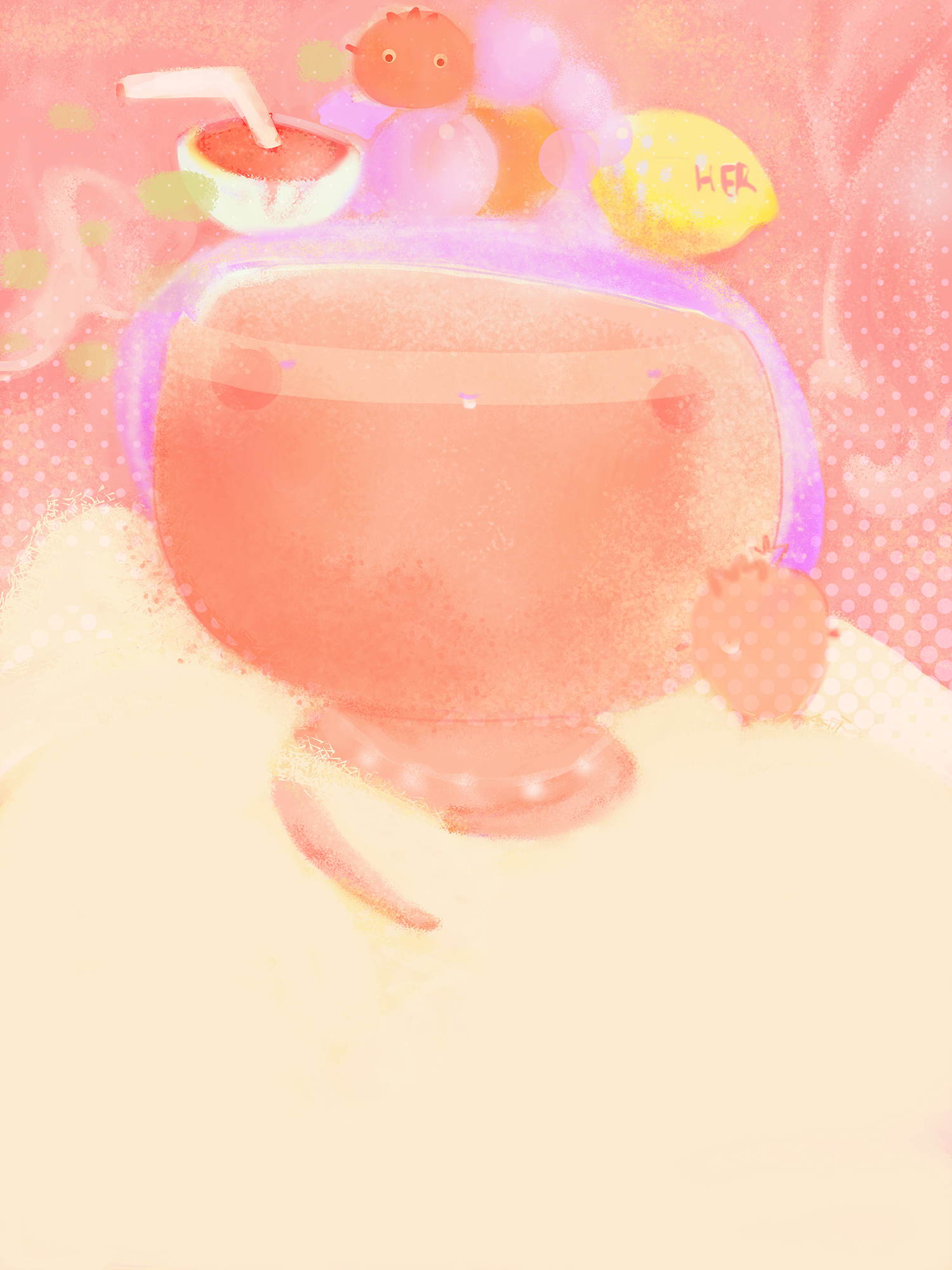 大鱼海棠图片手绘