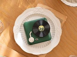 品牌案例丨唱片小风扇
