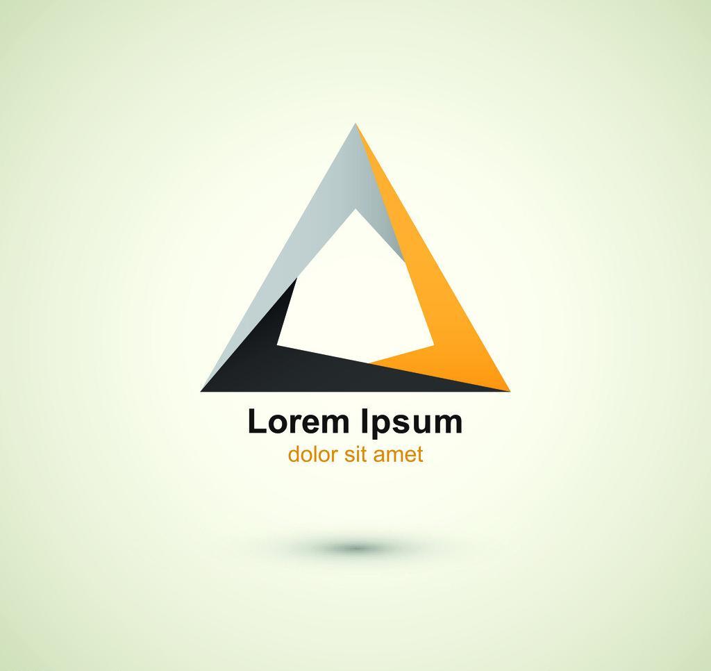 三角形-logo|平面|标志|泡沫淡影 - 原创作品 - 站酷图片