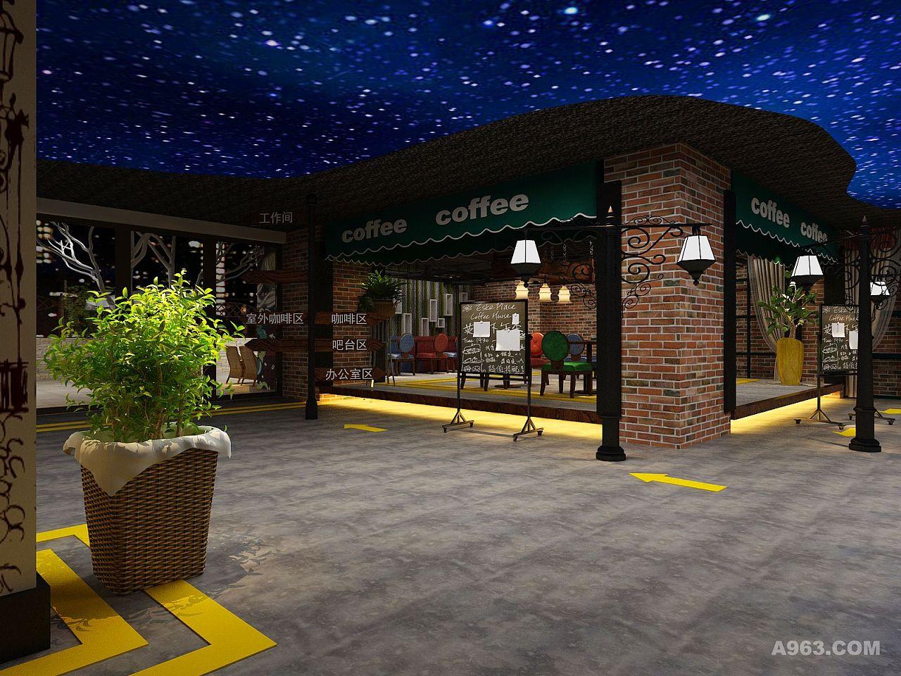 星空咖啡厅设计图v星空-自贡咖啡厅装修 自贡专word绘制表格边线加粗图片
