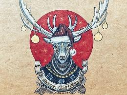 特别的礼物-圣诞鹿