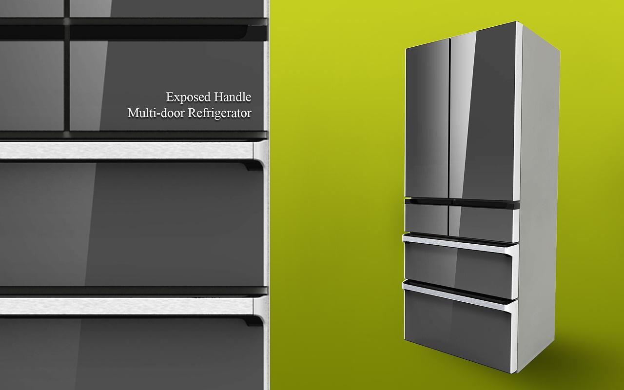 多门冰箱id设计 工业/产品 其他工业/产品 ahon_lee图片